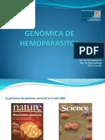 Clase Genomica Hemoparasitos 2011