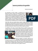 Liderazgo y Buenas Prcticas de Gestin Escolar VER 2JUN2012