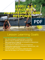 Lesson 14 - Emergency Preparedness