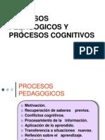 Procesos Pedagogico y Cognitivos -Ponencia