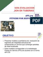 API 579 Corrosion Assesement