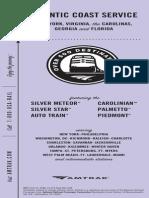 Silver Service Palmetto Schedule