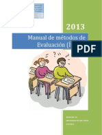 Manual de métodos de evaluación