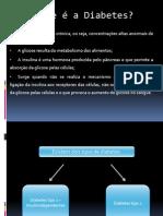 Apresentação Diabetes TIPO 1 - ESECD