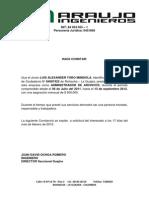 Contancia de Admisnitrador Documenatl
