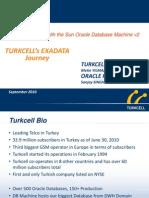 Presentation - Exadata in Turkcell 2