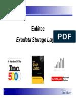 Presentation - Exadata Storage Layout