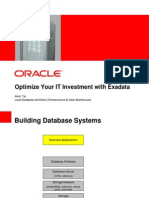 Presentation - Optimize Your IT Investment With Exadata