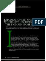 Explorations in Namespace (by Dan Kaminsky)