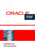 Oracle Data Integration - An Overview With Emphasis in DW App