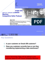Oracle Exadata Storage and the HP Oracle Database Machine - Competitive Seller Podcast