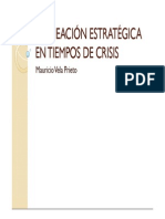 Planeacion Estrategica en Tiempos de Crisis