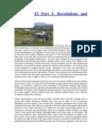 1776 – 2012 Part I Revolutions and Economics