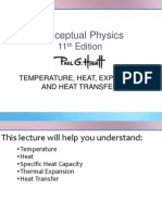 Heat, Temperature, Expansion and Heat Transfer