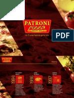 5 Pizza Patroni Franquia
