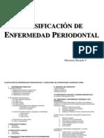 Clasificacion Periodontal
