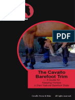 CAVALLO Barefoot Trim Manual