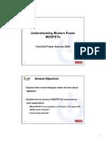 Understanding Modern Power MOSFETs PPT