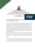 Perfeccionamiento Del Sistema de Gestion Del Talento Humano en La Universidad Agostinho Neto