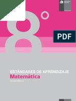 Estándares de Aprendizaje Matemática 8º básico - Decreto 129_2013