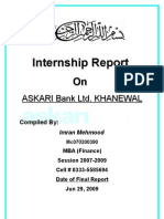 Internship Report Askari Bank Ltd. 2009