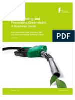 Understanding and Preventing Greenwash