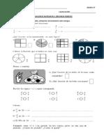 Evaluacion de Matematica 4 y 5 IDS.2014
