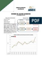 2014_01 Informe Del Sector Automotor a Diciembre 2013