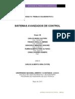 Trabajo Colaborativo 2 .. Sistemas Avanzados de Control