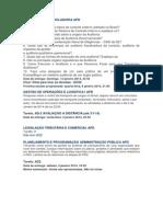 Auditoria e Controladoria Apd