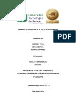 OPERACIÓN DE PLANTAS PETROQUIMICAS