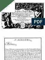 Les Trois Livres d'Airs Regravez de Nouveau en Deux Volumes-Facsimile 1668