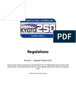 2014 Kyoto 250 Rules Book