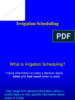 E Irrigation Scheduling-Unit 2