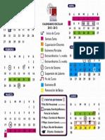 Calendario Ene-Ago 2013