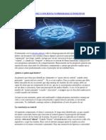 MENTE PENSANTE Y CONCIENCIA VS PROGRAMAS AUTOMÁTICOS