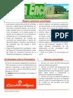 Boletín PSOE Albalá 5 -Marzo 2014-