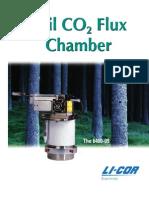 6400-09 Soil Flux Chamber