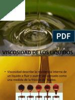 Viscosidad de Liquidos