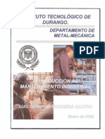 Introduccion Al Mantenimiento Industrial
