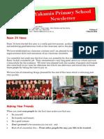 Newsletter Vol 3 7.3.14