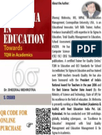 SIX SIGMA IN EDUCATION