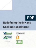 Redefining the M7 and NE Illinois Workforce: