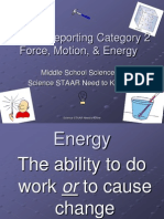 8th grade science staar category 2