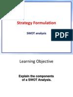 4. SWOT Matrix