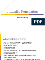 pp ramnika foundation