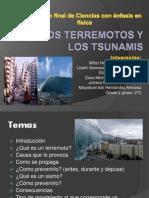 Los Terremotos y Los Tsunamis