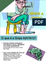 Apresentação sobre a Gripe A