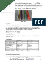 Fiber Optic Fusion Splice Protection Sleeves