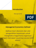 1 Introduction Manajerial